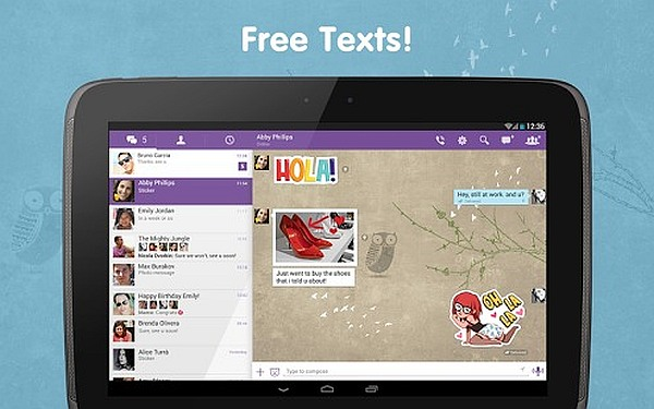 Viber for Android 1