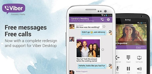 What are the Major Features of Viber App?