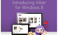 Newest features added to Viber in windows 8