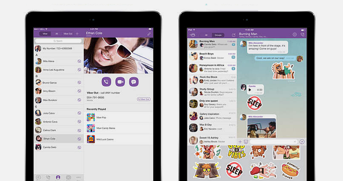 Viber for iPad 1